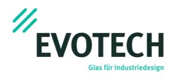 Evotech glas fur insutriedesign OnScreen