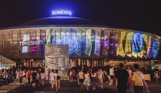 60m Projection Mapping