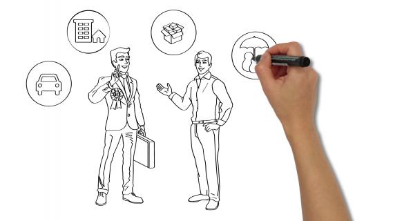 Insurance broker|Activ Asigurari | WHITEBOARD ANIMATION VIDEO