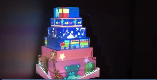 Pop-up Digital Cake | Interactivitate evenimente