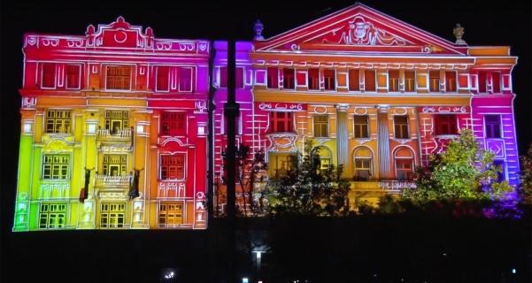"Video Mapping ""Zilele Clujului 2017″"
