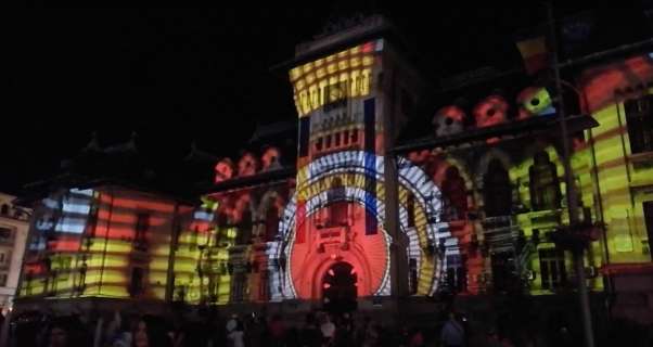 "Video Mapping ""Zilele Craiovei"""