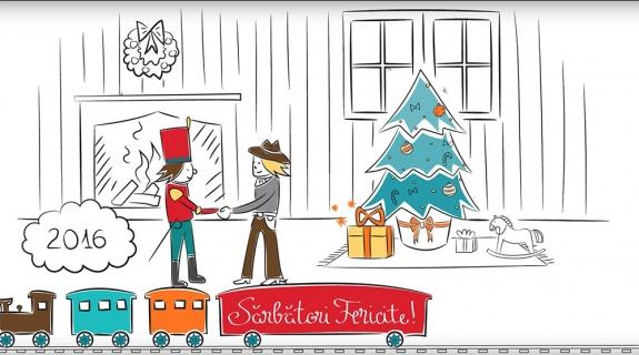 Cadouri magice | Video Felicitare de Crăciun | WHITEBOARD ANIMATION