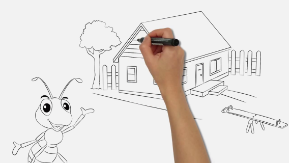 Jack – the smarter ant | WHITEBOARD ANIMATION VIDEO