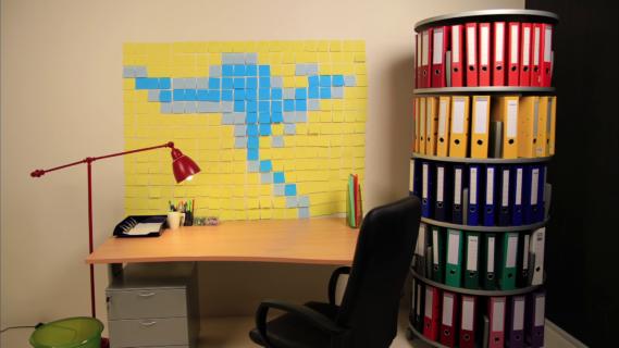 Când ai ce-ţi trebuie, biroul prinde viaţă! |Austral |STOP MOTION